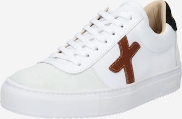New Lab Sneaker low i hvit