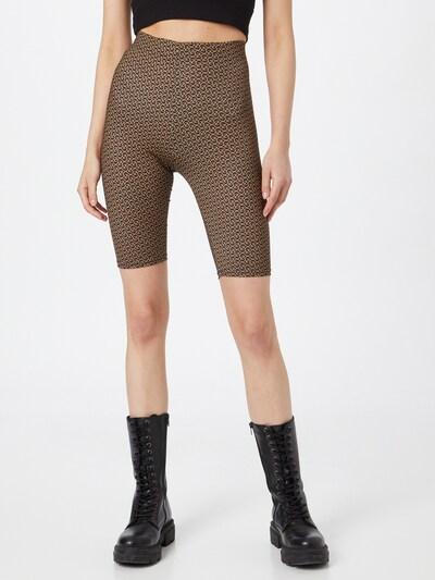 Gestuz Leggings 'Pilo' en marron / noisette, Vue avec modèle