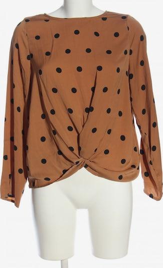 VERO MODA Langarm-Bluse in S in braun / schwarz, Produktansicht