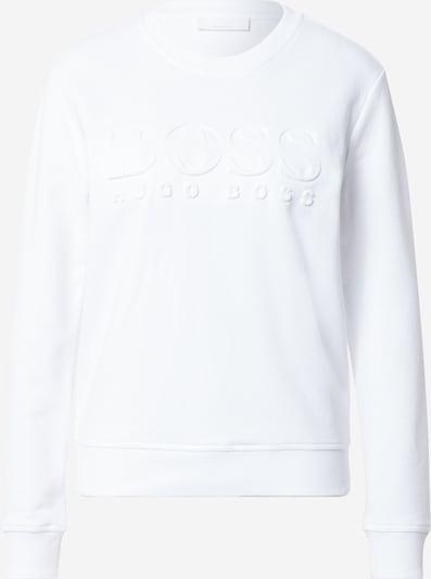 BOSS Casual Sweat-shirt 'Elaboss' en blanc cassé, Vue avec produit