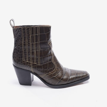 Ganni Dress Boots in 40 in Green