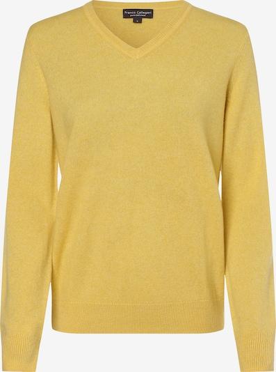 Franco Callegari Pullover in gelb, Produktansicht