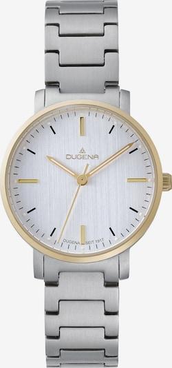 DUGENA Uhr in gold / silber / weiß, Produktansicht