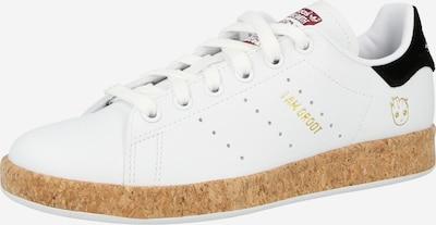 ADIDAS ORIGINALS Sneaker low 'STAN SMITH' i sort / hvid, Produktvisning