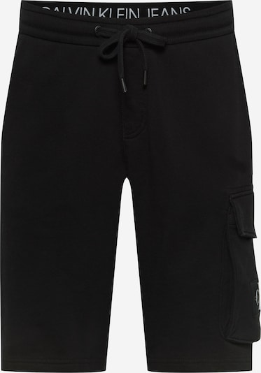 Calvin Klein Jeans Карго панталон в черно / бяло, Преглед на продукта