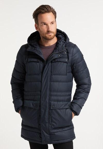 DreiMaster Klassik Winterjas in de kleur Marine: Vooraanzicht
