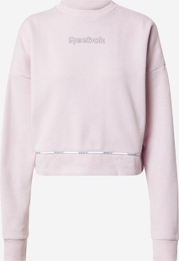 Reebok Sport Sportsweatshirt in altrosa / schwarz, Produktansicht
