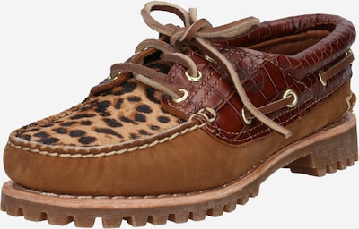 TIMBERLAND Moccasin 'Heritage Noreen' in Light brown / Dark brown / Black, Item view