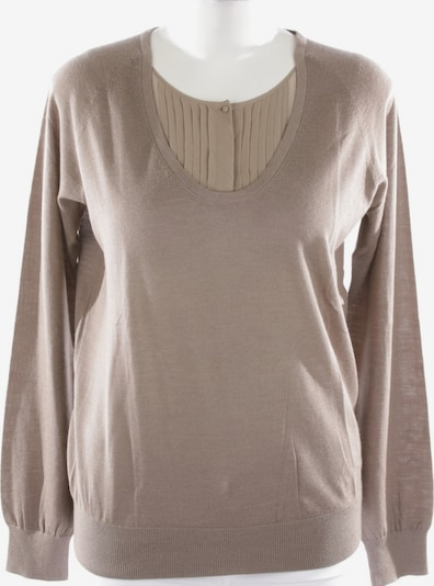 HUGO BOSS Pullover  in L in braun, Produktansicht