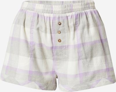 világosszürke / lila / fehér Cotton On Body Pizsama nadrágok, Termék nézet