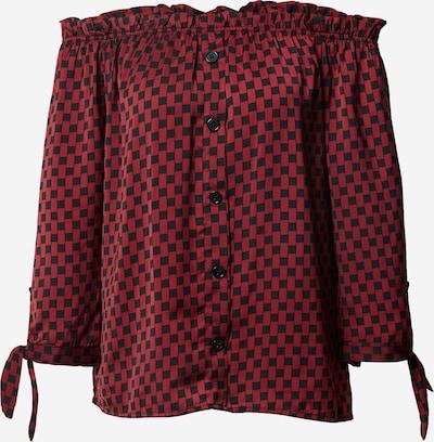 Bluză 'Carmen' Sublevel pe roșu / negru, Vizualizare produs