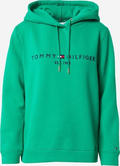 TOMMY HILFIGER Sweatshirt in navy / grün / rot / weiß, Produktansicht