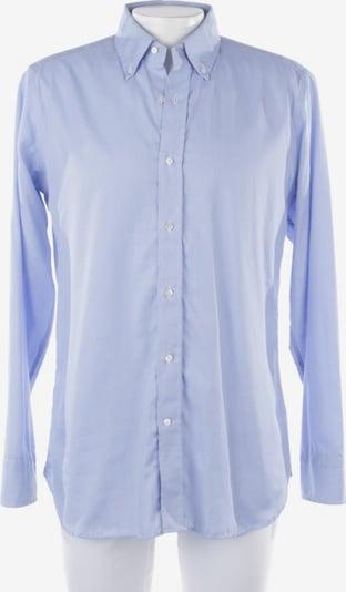 Caliban Businesshemd in S in himmelblau / weiß, Produktansicht