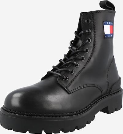 Tommy Jeans Šnurovacie čižmy - námornícka modrá / červená / čierna / biela, Produkt