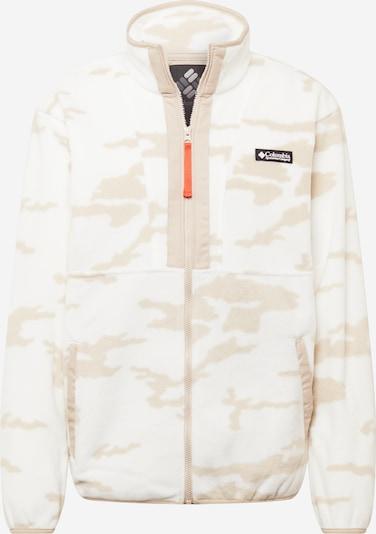 Jachetă  fleece funcțională COLUMBIA pe grej / alb, Vizualizare produs