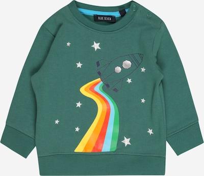 Megztinis be užsegimo iš BLUE SEVEN, spalva – tamsiai mėlyna / tamsiai žalia / mišrios spalvos / balta, Prekių apžvalga