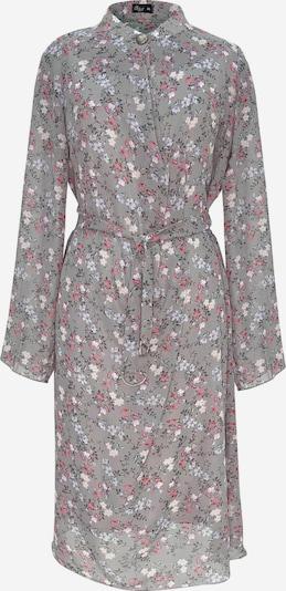 Wisell Kleid in grau / flieder / pink / weiß, Produktansicht