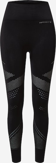 Superdry Leggings in hellgrau / schwarz, Produktansicht