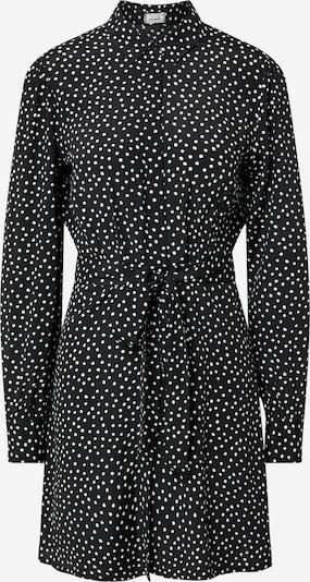 Pimkie Рокля тип риза 'D-OCHEM' в черно / бяло: Изглед отпред