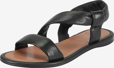 Ekonika Sandalen met riem in de kleur Zwart, Productweergave