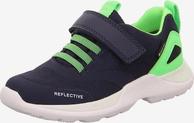SUPERFIT Sneaker 'RUSH' in blau / grün, Produktansicht