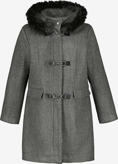 Palton de iarnă Ulla Popken pe gri amestecat, Vizualizare produs
