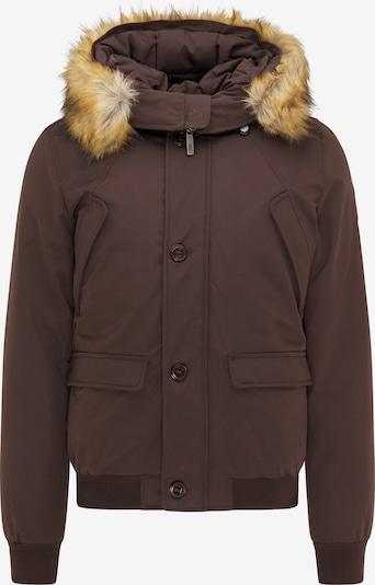 MO Winterjas in de kleur Kastanjebruin, Productweergave