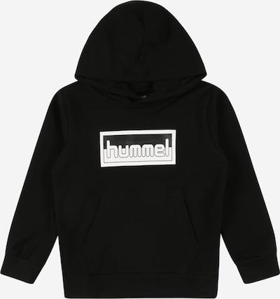 Hummel Sweatshirt in schwarz / weiß, Produktansicht