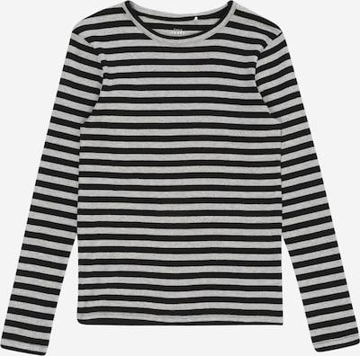 NAME IT Shirt in graumeliert / schwarz, Produktansicht