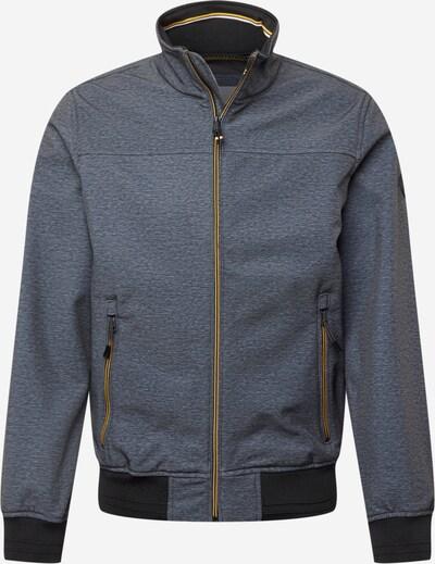 TOM TAILOR Φθινοπωρινό και ανοιξιάτικο μπουφάν σε γκρι μελανζέ / μαύρο, Άποψη προϊόντος