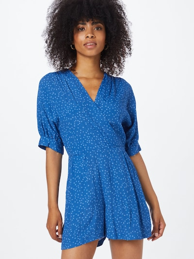 Closet London Jumpsuit in de kleur Blauw / Lichtblauw, Modelweergave