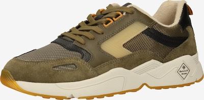 GANT Sneaker in pastellgelb / oliv / schwarz, Produktansicht