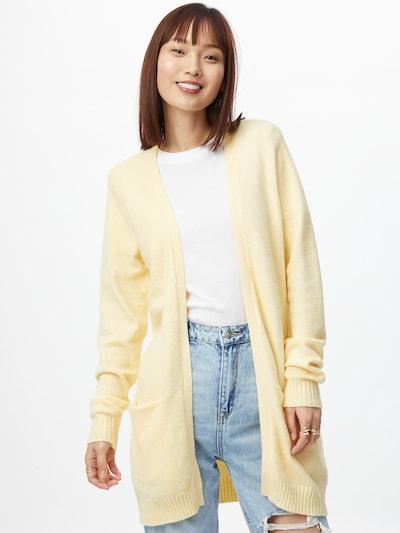 VILA Cárdigan 'RIL' en amarillo, Vista del modelo
