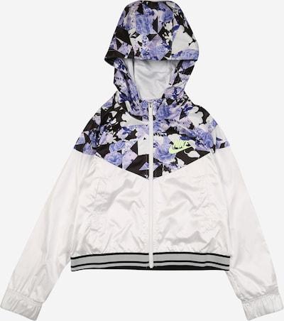 Nike Sportswear Jacke in lila / weiß, Produktansicht