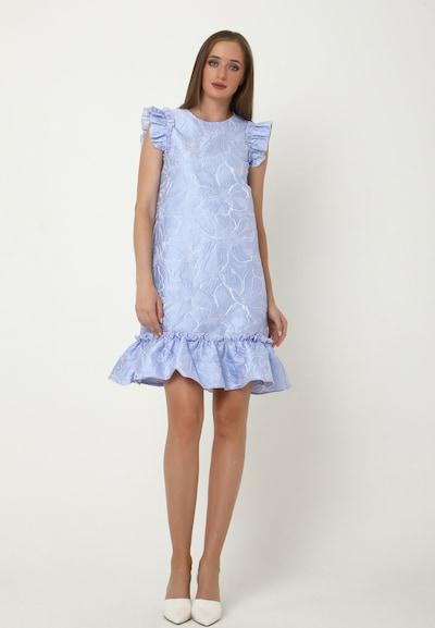 Madam-T Kleid 'Greta' in hellblau, Modelansicht