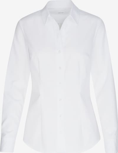 SEIDENSTICKER Hemdbluse ' Schwarze Rose ' in weiß, Produktansicht