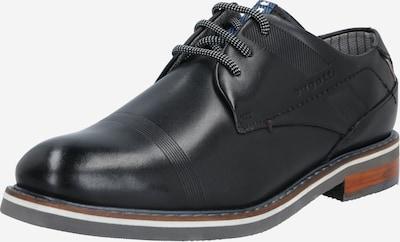 Pantofi cu șireturi 'Firmin Exko' bugatti pe negru, Vizualizare produs