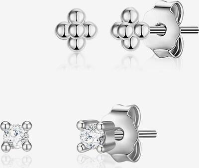 Glanzstücke München Silber-Ohrstecker in silber, Produktansicht