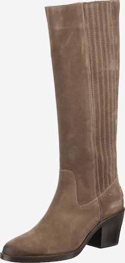 SHABBIES AMSTERDAM Stiefel in taupe, Produktansicht