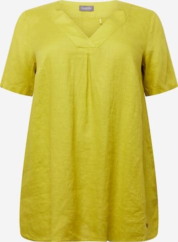 SAMOON Tunic in Yellow