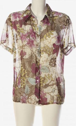 Sixth Sense Kurzarmhemd in XL in khaki / pink / wollweiß, Produktansicht