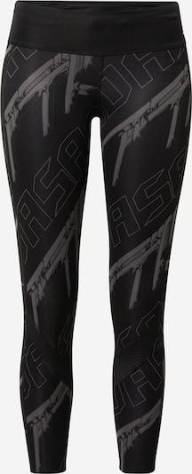 ADIDAS PERFORMANCE Pantalon de sport 'Own the Run Club' en gris / noir, Vue avec produit