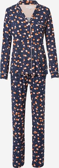 PJ Salvage Pyjama in de kleur Navy / Mandarijn / Perzik, Productweergave