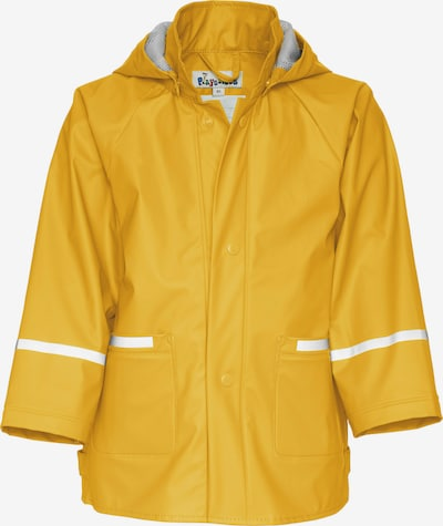 PLAYSHOES Veste fonctionnelle en jaune d'or / blanc, Vue avec produit