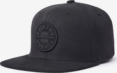Brixton Cap 'OATH III' in schwarz, Produktansicht