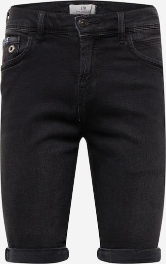 LTB Jeansshort 'LANCE' in schwarz, Produktansicht