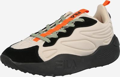 FILA Matalavartiset tennarit 'Teclus' värissä taupe / oranssi / musta, Tuotenäkymä