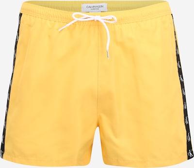Calvin Klein Swimwear Plavecké šortky - žlutá / černá / bílá, Produkt