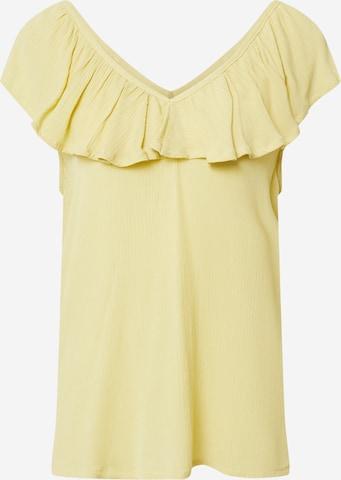 ICHI Bluse in Gelb
