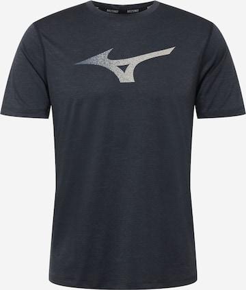 MIZUNO Sportshirt in Schwarz